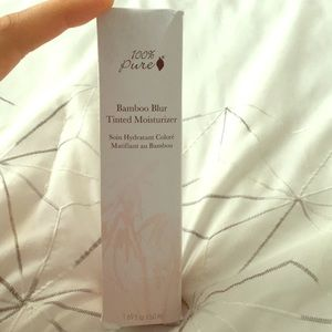 Other - 100% Pure Bamboo Blur Tinted Moisturizer